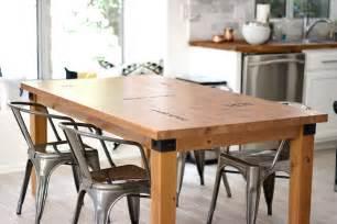 metal kitchen island tables kitchen table makeover caprese spaghetti kristi murphy do it yourself