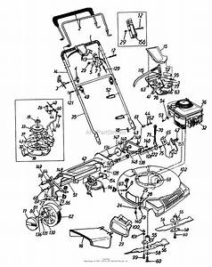 mtd 126 147h099 247376380 1996 parts diagram for With craftsman self propelled mower