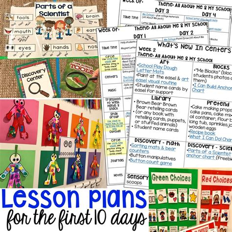 10 days of school lesson plans and more pocket 593 | Slide2 3