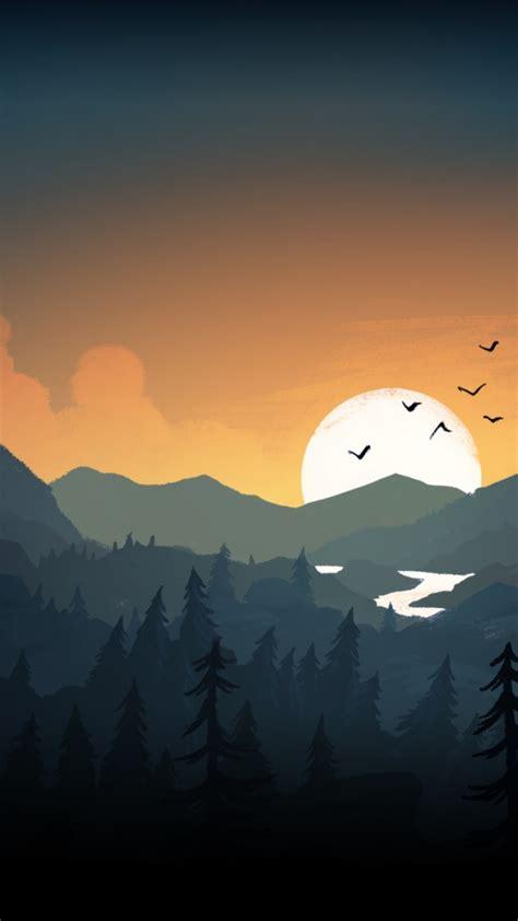 wallpaper firewatch  games adventure games