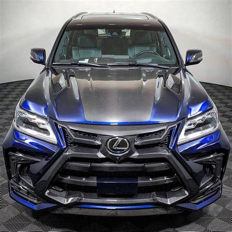 lexus lx  carbon fiber special edition body kit