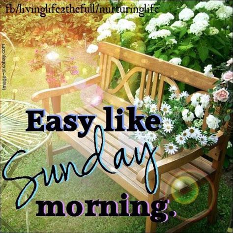 Sunday Morning Images Easy Like Sunday Morning Image Quote Pictures Photos And