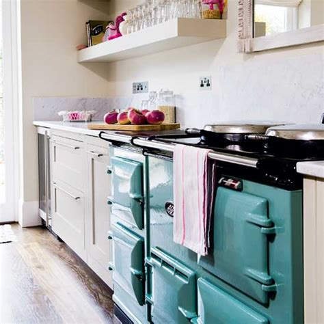 aga kitchen design ideas be inspired by an painted kitchen ideal home 4005