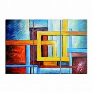 Tableau Peinture Pas Cher : tableaux abstrait peinture modernes tableaux peinture pas cher ~ Teatrodelosmanantiales.com Idées de Décoration