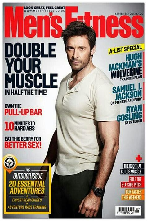 Hugh Jackman Fitness Men
