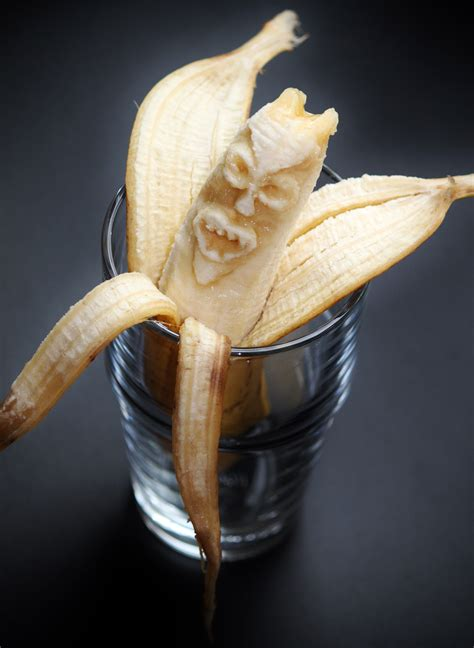banana face monster image  stock photo public