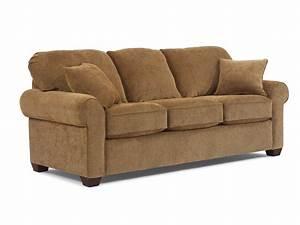 Flexsteel Living Room Queen Sleeper Sofa 5535 44 Fiore