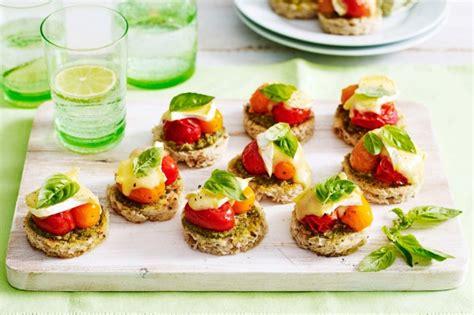 canape s mixed tomato canapes recipe taste com au