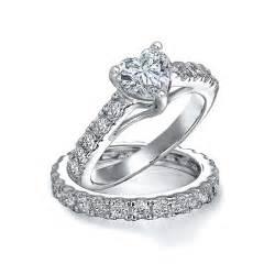 wedding rings ebay bling jewelry sterling silver cz pave engagement wedding ring set ebay
