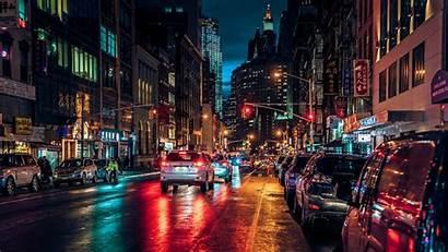 Night Nyc Wallpapers York Chinatown Street Manhattan