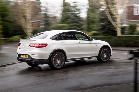 mercedes amg glc matic coupe  review car magazine