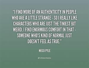 Authenticity Quotes. QuotesGram