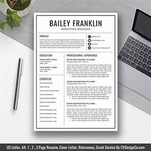 Best Selling Office Word Resume    Cv Templates  Cover