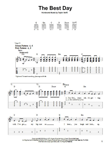 Taylor Swift You Belong With Me Chords