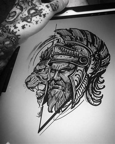 gladiator tattoo ideas  pinterest spartan