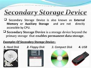 Storage devices and features