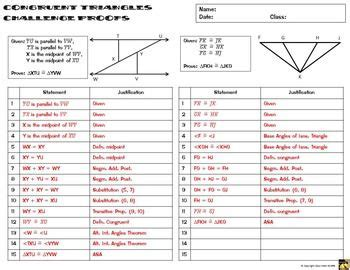 congruent triangles proofs two column proof practice and quiz geometry geometry math
