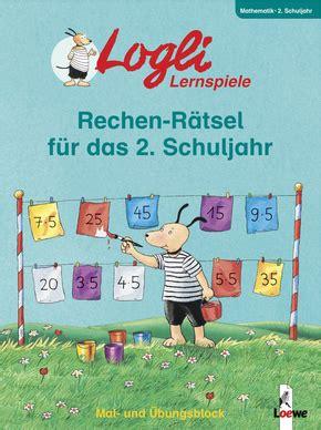 Rechen Rätsel by Rechen R 228 Tsel F 252 R Das 2 Schuljahr Falko Honnen 978