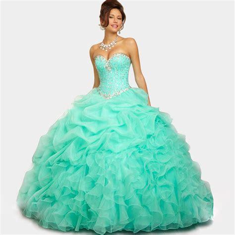 light blue 15 dresses cute sweetheart organza pink light blue quinceanera