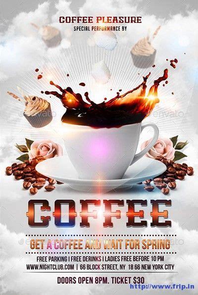 coffee shop flyer print templates  flyer