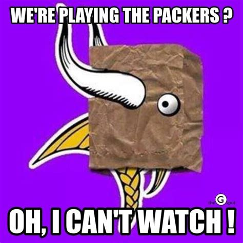Vikings Suck Meme - 96 best green bay packers memes images on pinterest packers football green bay football and