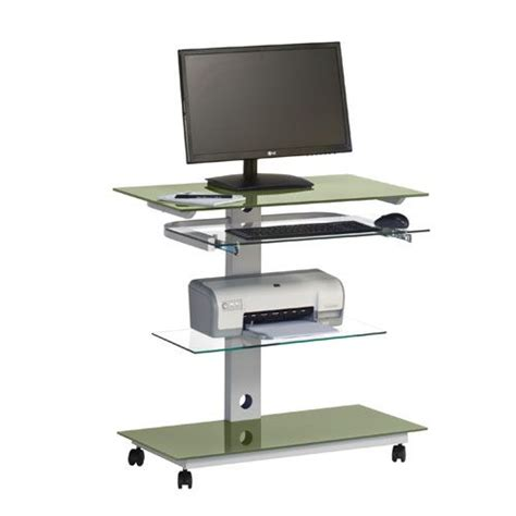 home office desk on wheels 1000 images about office desks with wheels portable or