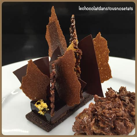 les desserts au chocolat de desty brami restaurant gastronomique le baron et bistrot gourmand