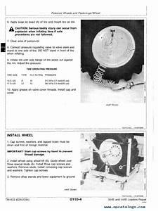 John Deere 344e 444e Loader Repair Tm1422 Pdf Manual