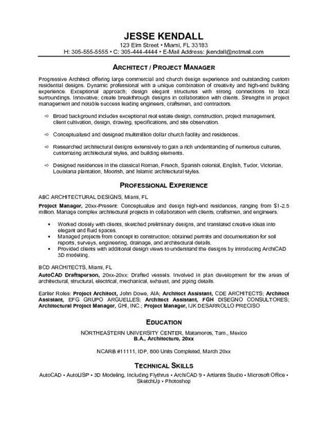 project management resume objective the best letter sle