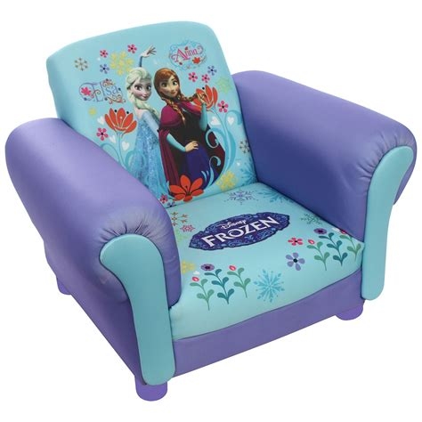 children s princess frozen elsa upholstered chair