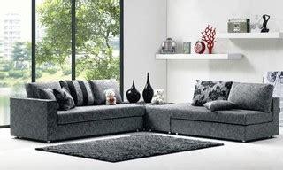 alessia leather sofas 2 set modern denim blue fabric sectional sofa set