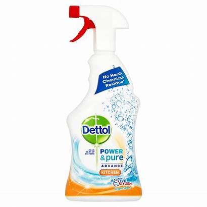 Dettol Spray Kitchen Power Pure Cleaner Cleaning