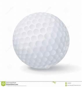 Vector Golf Ball Stock Image - Image: 14920631