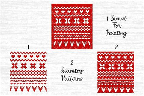 Free christmas sweater patterns is a demo pack of the latest patterns collection by graphic spirit. Sweater pattern svg, Christmas pattern svg, Ugly sweater svg