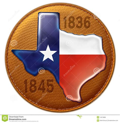 texas state flag map leather royalty  stock