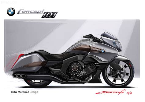 "The New Bmw Motorrad ""concept 101"""