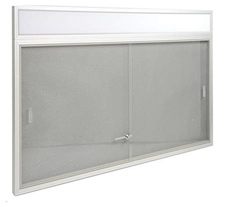 cork board alternative these enclosed fabric bulletin board feature sliding glass 2595