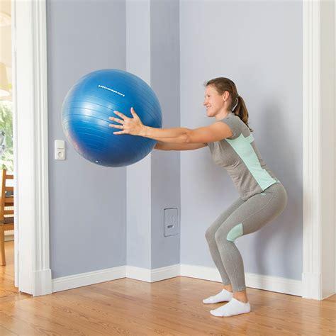 sitzball als bürostuhl ultrasport fitnessball vielseitig als sitzball