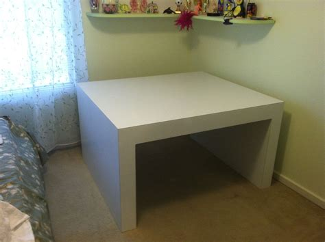handmade corner parsons table  baltimore woodworking