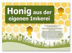 Honig Aus Eigener Imkerei : honig werbeschild honig aus der eigenen imkerei 20 x 30 cm imkereibedarf seip alles ~ Whattoseeinmadrid.com Haus und Dekorationen