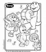 Barney Coloring Bop Printable Bj Pages Birthday Playing Instruments Printables Fun Colouring Hubpages Sheets Riff Dinosaur Paper Paint Crayons Instrument sketch template