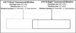 envelope templates commercial window envelope template With standard window envelope template