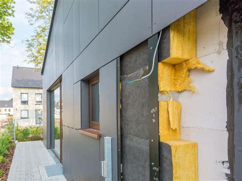 Einfamilienhaus Neues Kleid Fuer Die Fassade by W 228 Rmed 228 Mmung Bei Fassaden