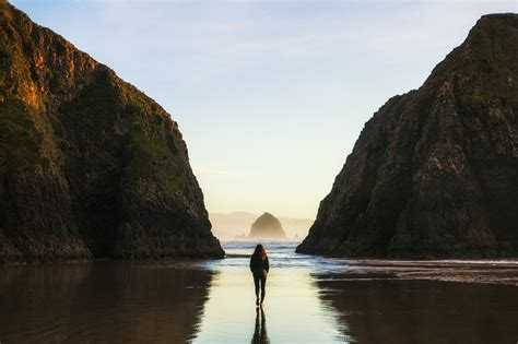 beach crescent oregon coast beaches hikes hidden 101 hwy attractions places trip coastal along hike secluded road hiking matti onlyinyourstate