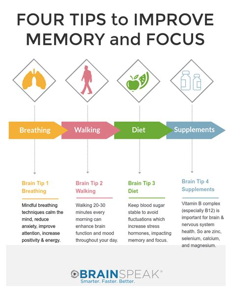 How To Improve Your Memory And Focus Brainspeak®