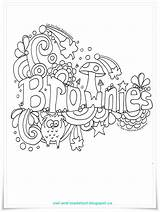 Brownie Brownies Guides Activities Scouts Meeting Scout Promise Doodle Owl Crafts Guide Troop Printables Songs Coloring Leader Activity Guiding Sparks sketch template