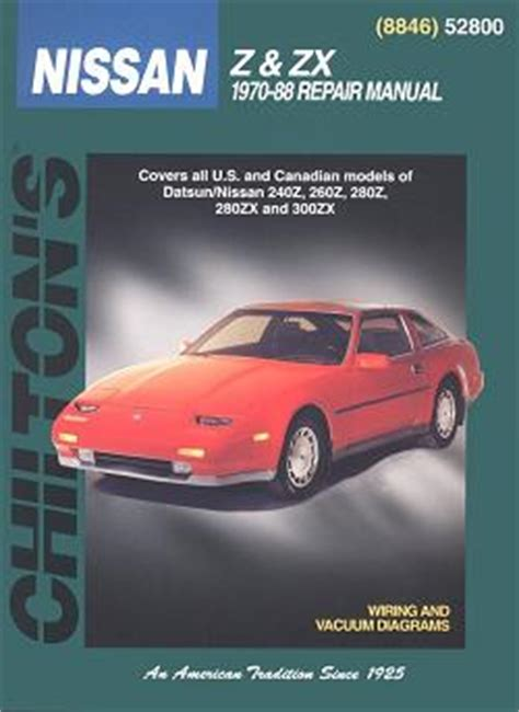 chilton car manuals free download 1988 pontiac turbo firefly windshield wipe control 1970 1988 datsun nissan 240z 260z 280z 280zx 280zx turbo 300zx 300zx turbo chilton s