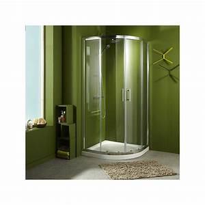 acces d39angle douche wikiliafr With porte de douche coulissante avec meuble de salle de bain style romantique