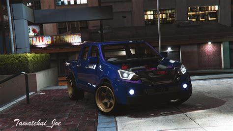 Isuzu Mux Modification by Isuzu Dmax Mux Replace Gta5 Mods