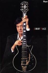Jimmy Page With His Namesake  U0026quot Black Beauty U0026quot  Gibson Les